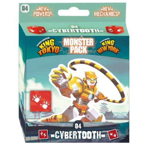 Cybertooth Monster Pack: King of Tokyo, King of New York